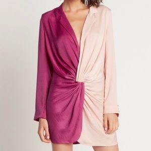 choosy color block dress